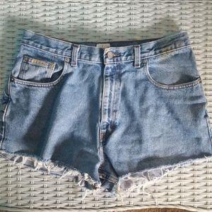 Vintage Calvin Klein jean shorts cut offs